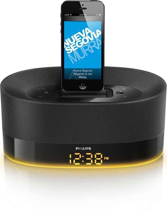 Muzyka z urządzeń iPod/iPhone/iPad rozbrzmiewająca w całym domu