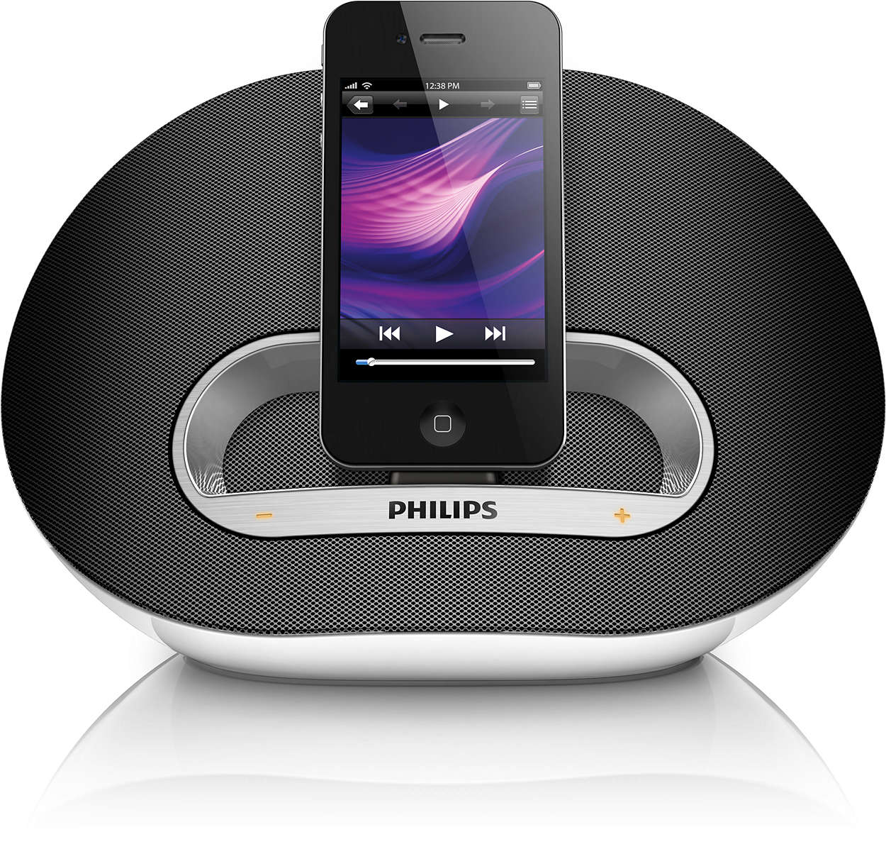 docking speaker ds3100 05 philips. Black Bedroom Furniture Sets. Home Design Ideas