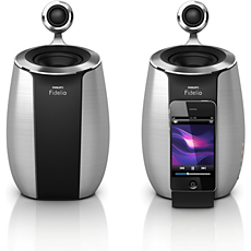 DS6600/10 - Philips Fidelio  SoundSphere mini docking speakers
