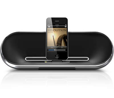 iphone docking station with speakers speaker ds7550 37 philips 17638