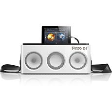 DS8900/10 -    M1X-DJ-äänentoistojärjestelmä