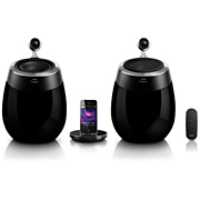 Fidelio SoundSphere docking speakers