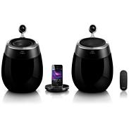 Fidelio SoundSphere docking speakers