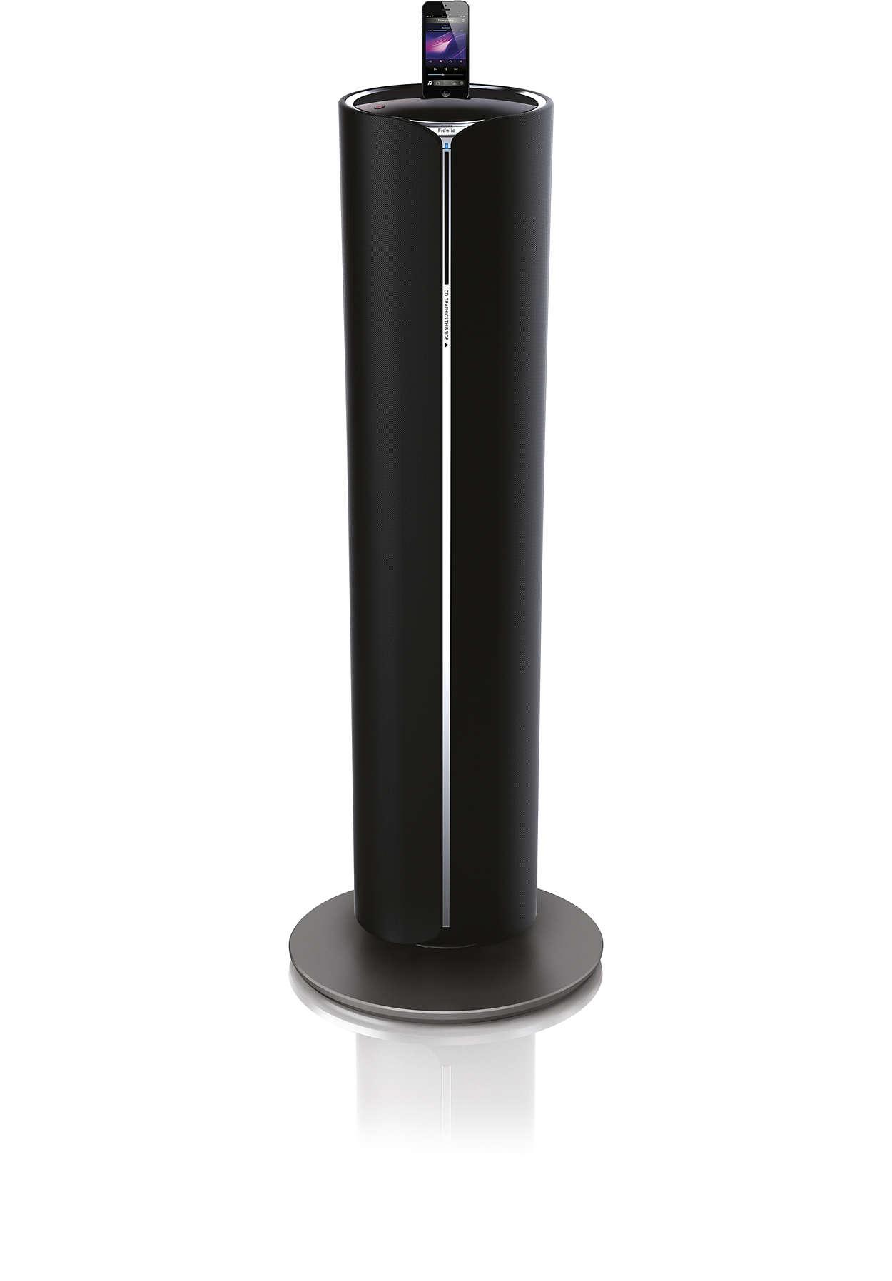 docking soundsystem dtm5095 12 fidelio. Black Bedroom Furniture Sets. Home Design Ideas