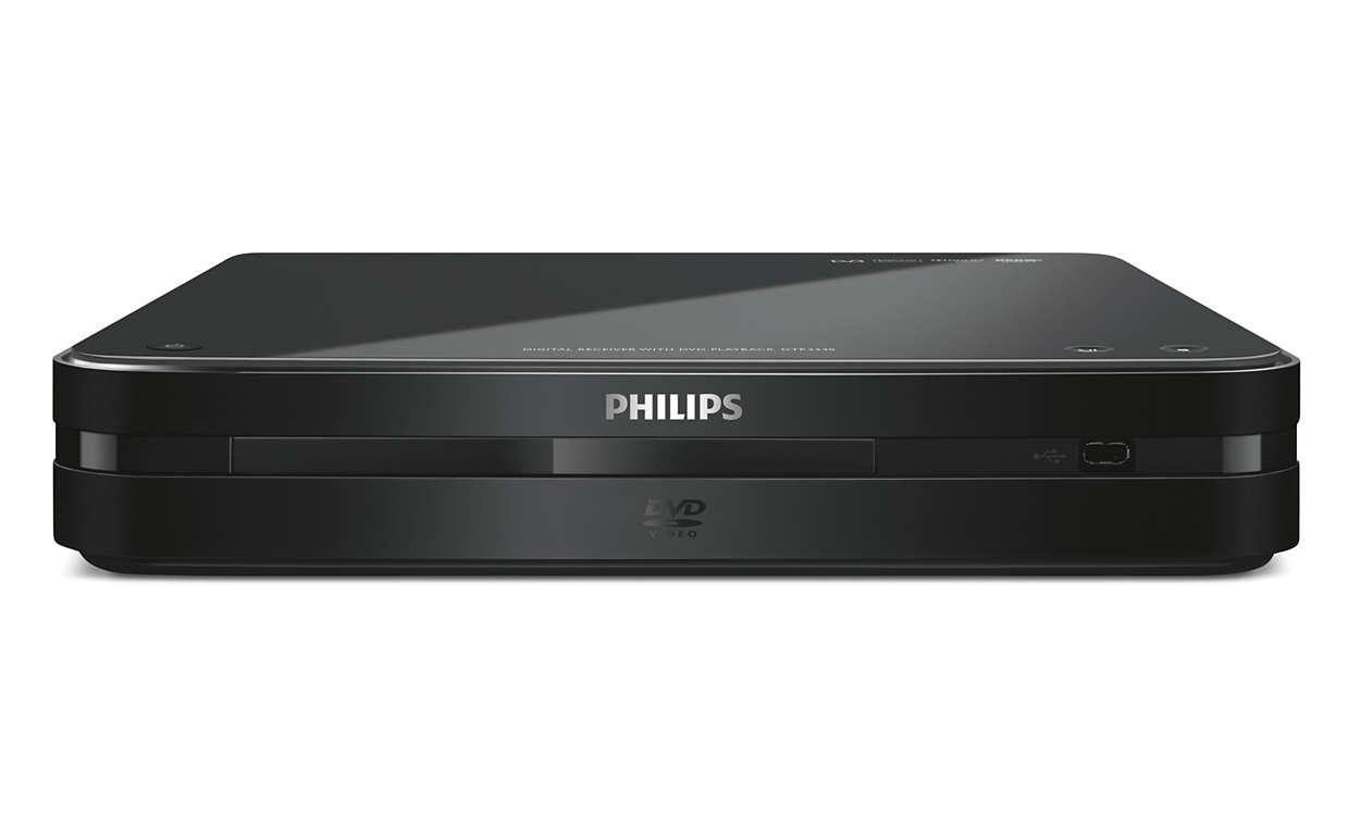 Digitálna TV a prehrávanie DVD v jednom