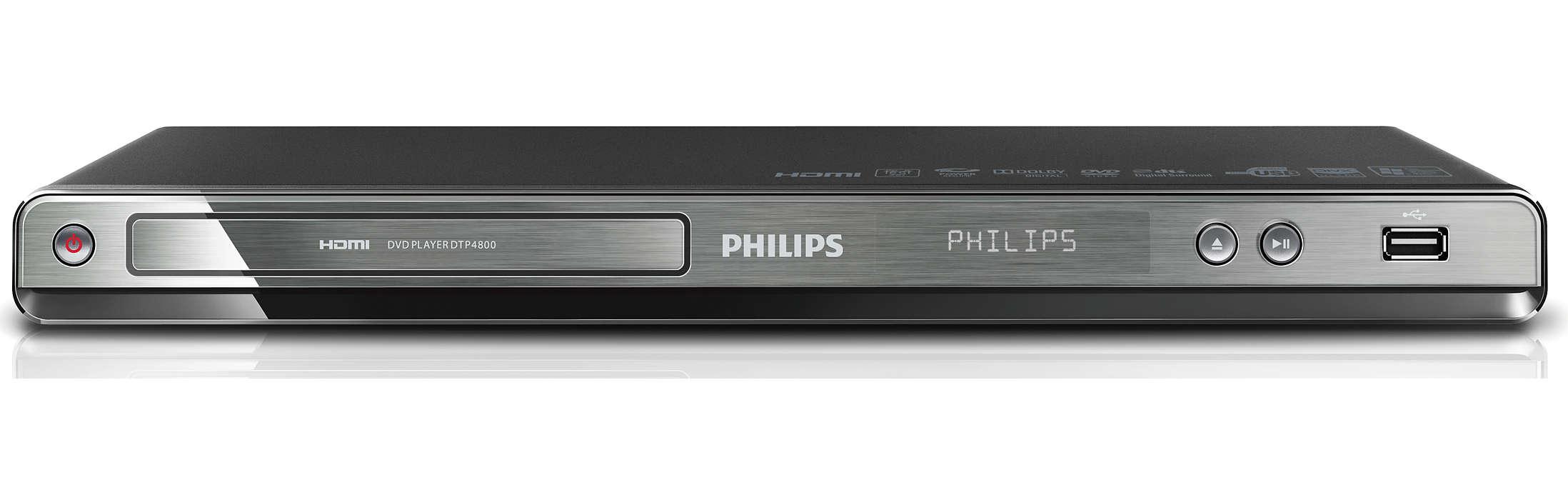 Digitale TV kijken en DVD's afspelen met één apparaat
