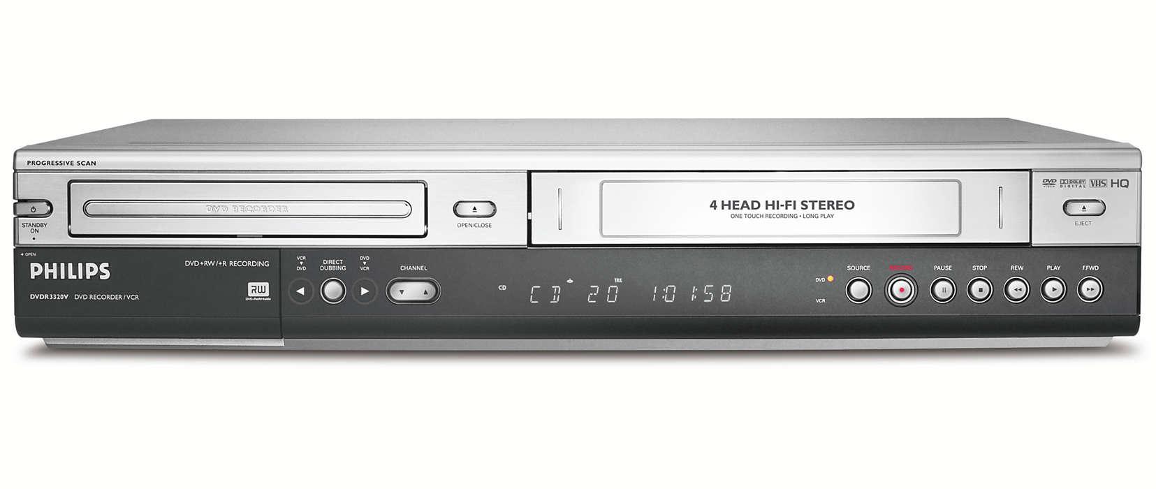 Uchovajte si svoje kazety VHS na DVD
