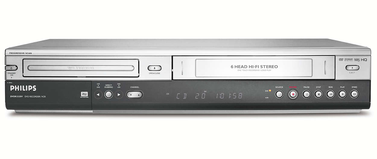 Philips vcr hookup