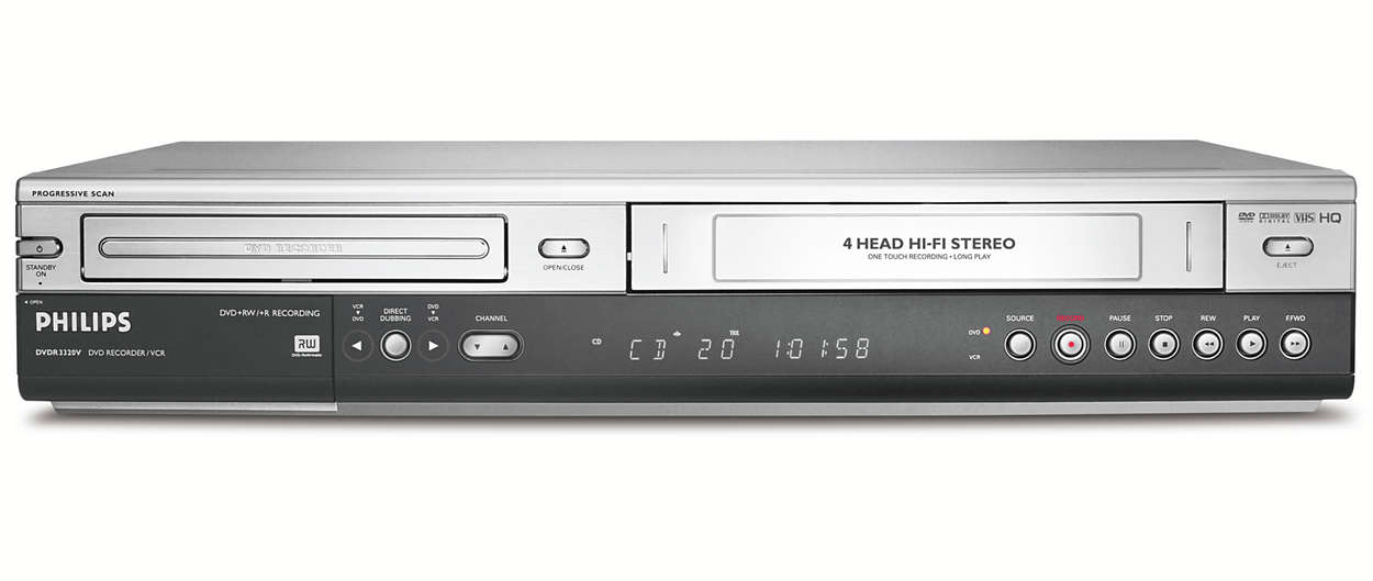 Bewaar uw VHS-banden uw leven lang op DVD