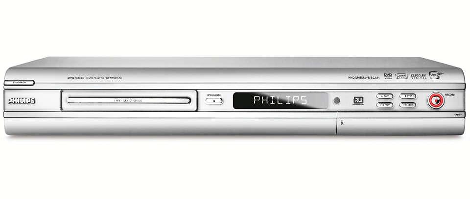 DVD player/recorder DVDR3355/37   Philips