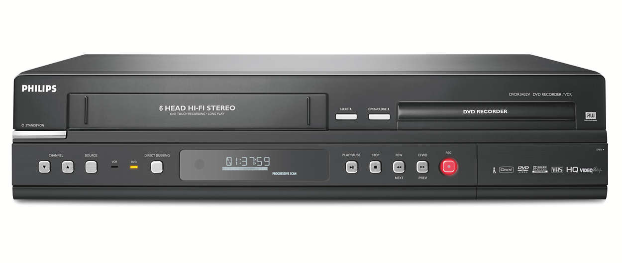 Preserve your VHS tapes on DVD