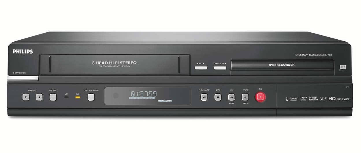 Ta vare på VHS-kassettene på DVD