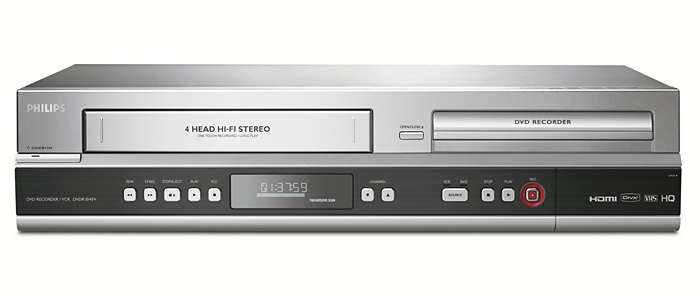 Simply record to DVD and VHS