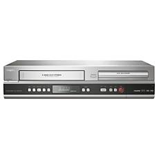 DVDR3545V/F7  DVD recorder/VCR