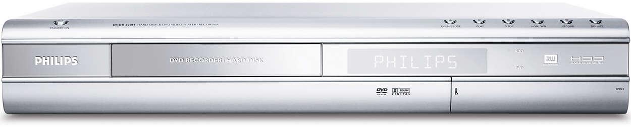 DVD rekordér/harddisk