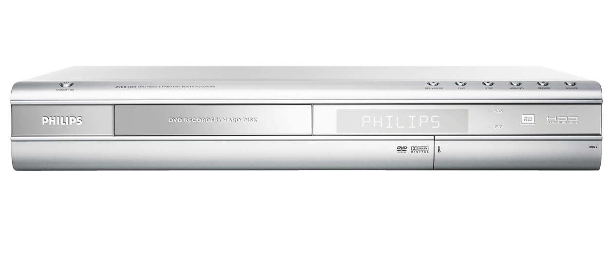 DVD Recorder/Hard Disk