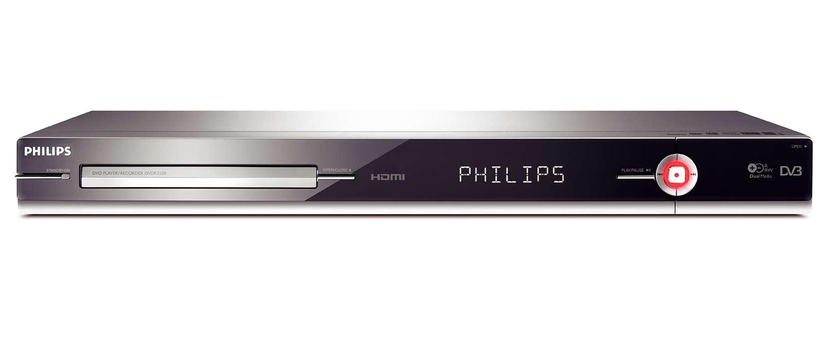 Ciesz się telewizją cyfrową w jakości HD 1080i
