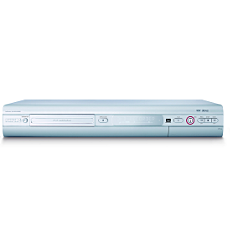 DVDR610/02  DVD player/recorder