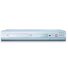 DVDR615/17  Reproductor/grabador de DVD