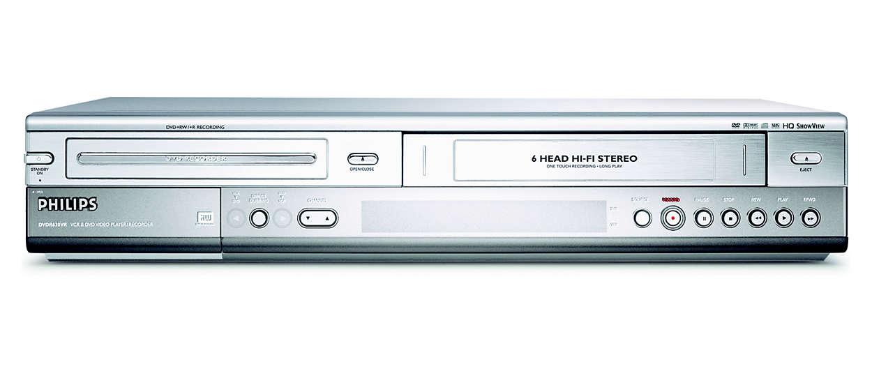 Tallenna VHS-nauhat pysyvästi DVD:lle