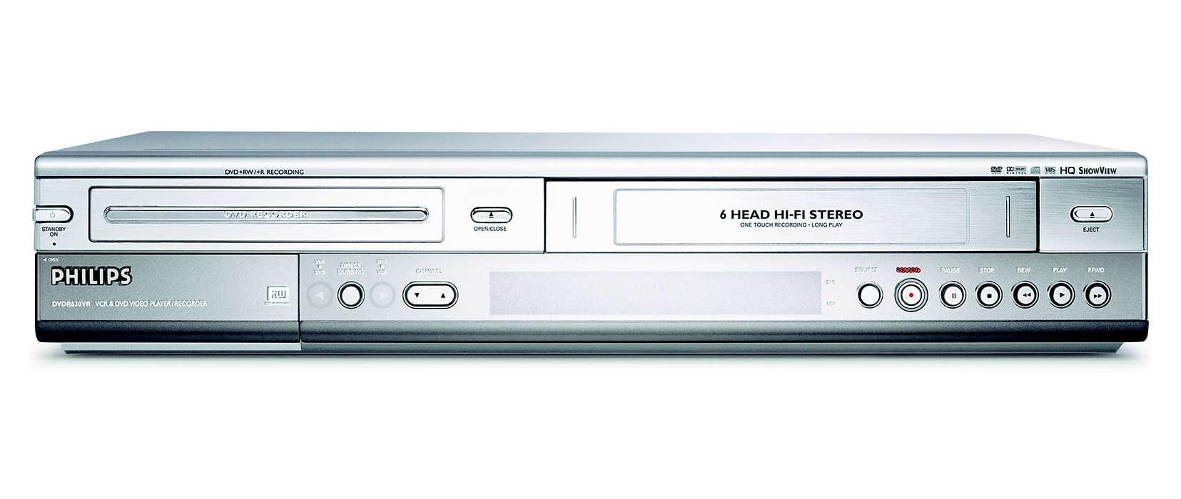 Zachowaj na zawsze nagrania VHS na płytach DVD