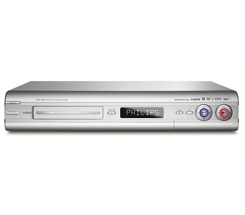 Hard disk/DVD recorder DVDR7300H/05   Philips