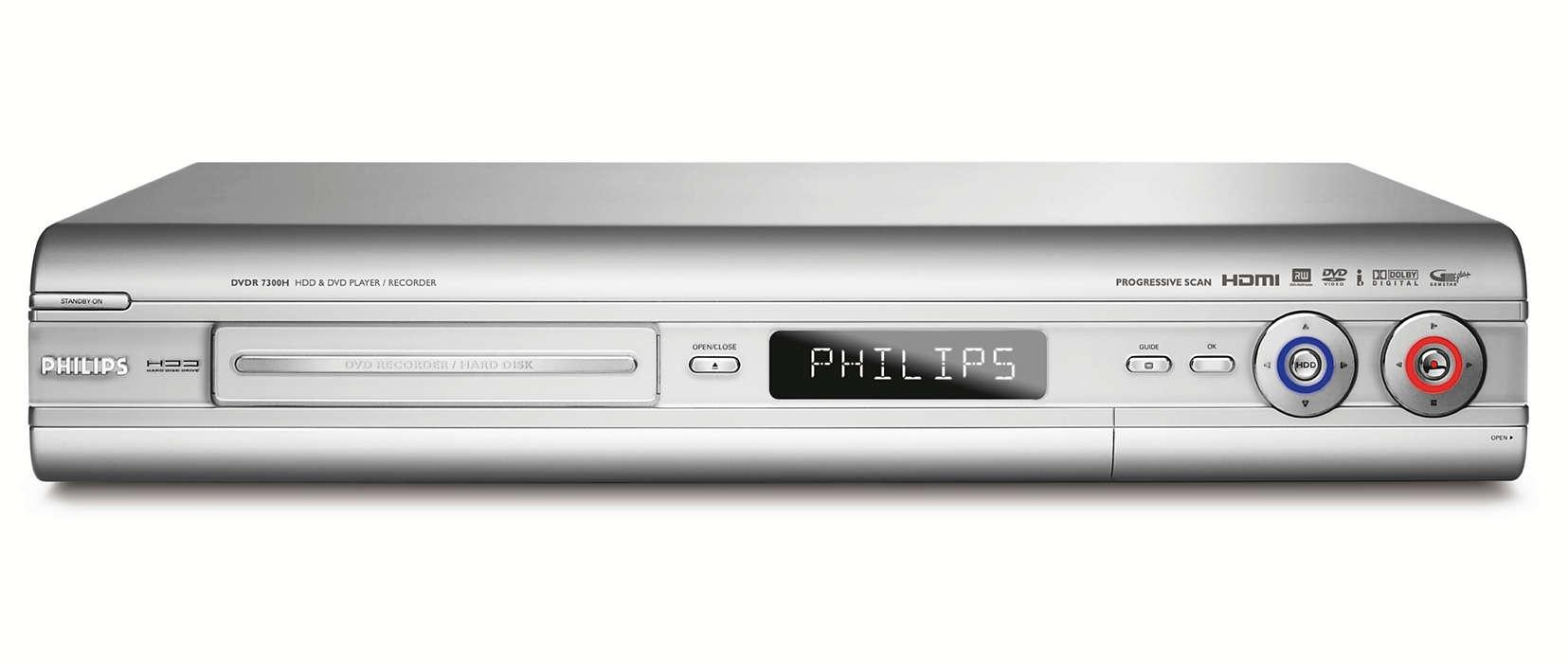 DVD-recorder met harde schijf