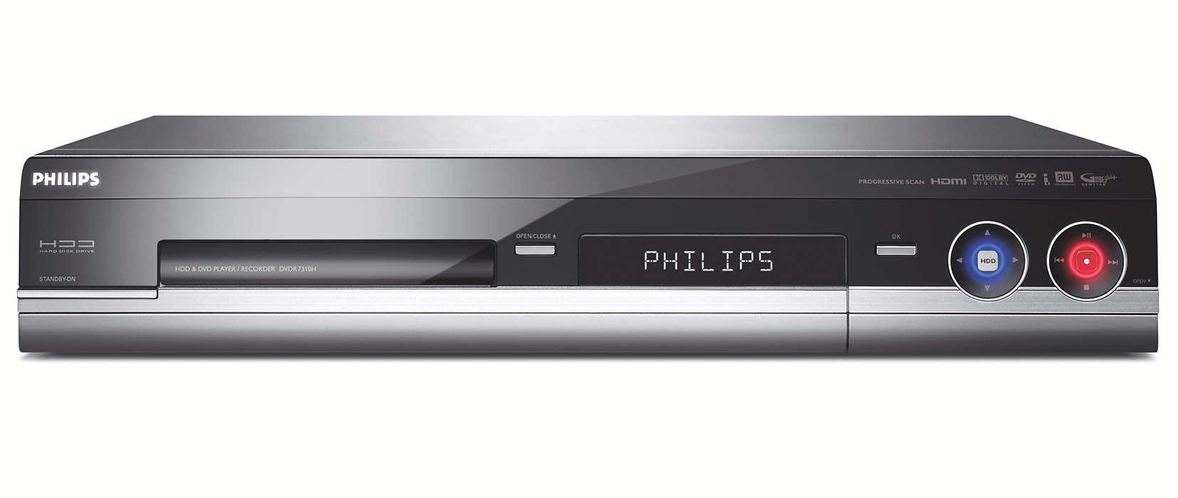 Устройство записи жестких дисков/DVD