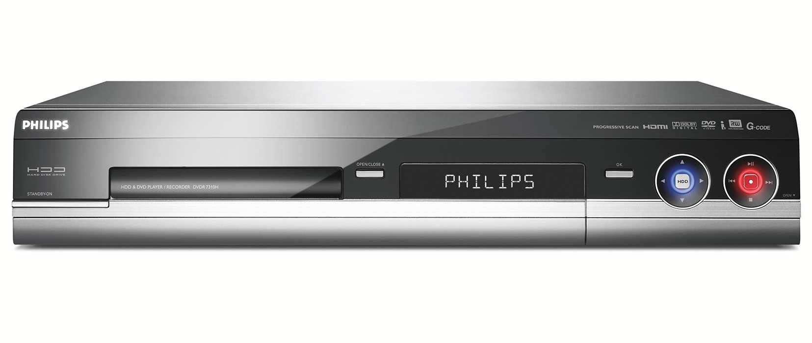Hard Disk/DVD Recorder