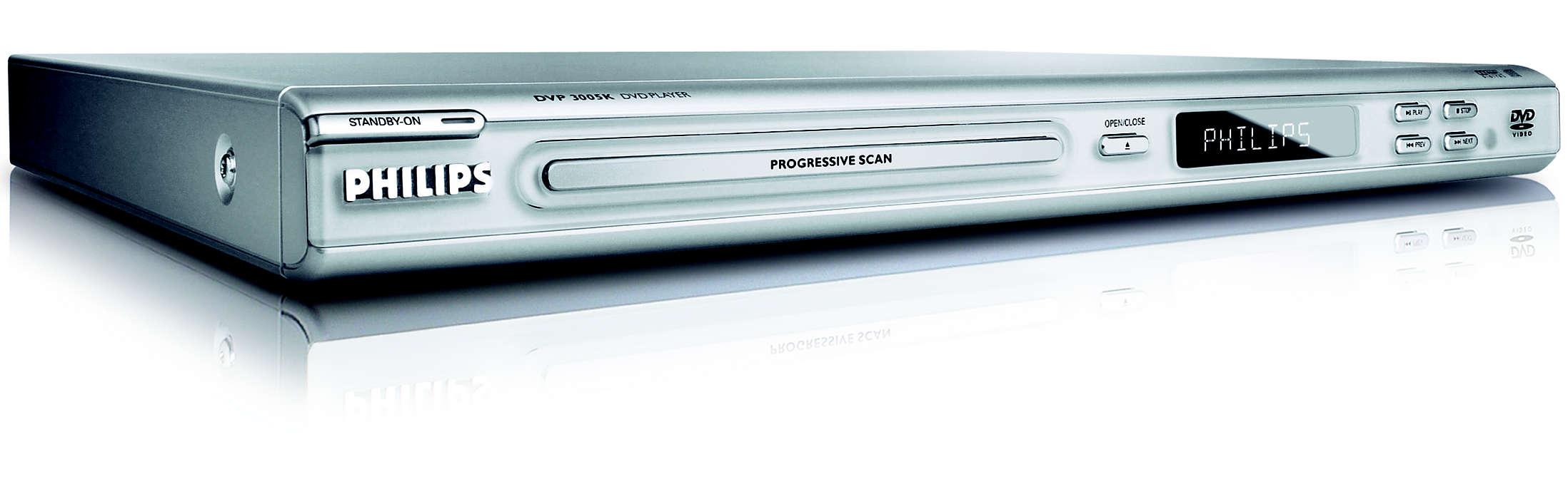 DVD player DVP3005K/69   Philips