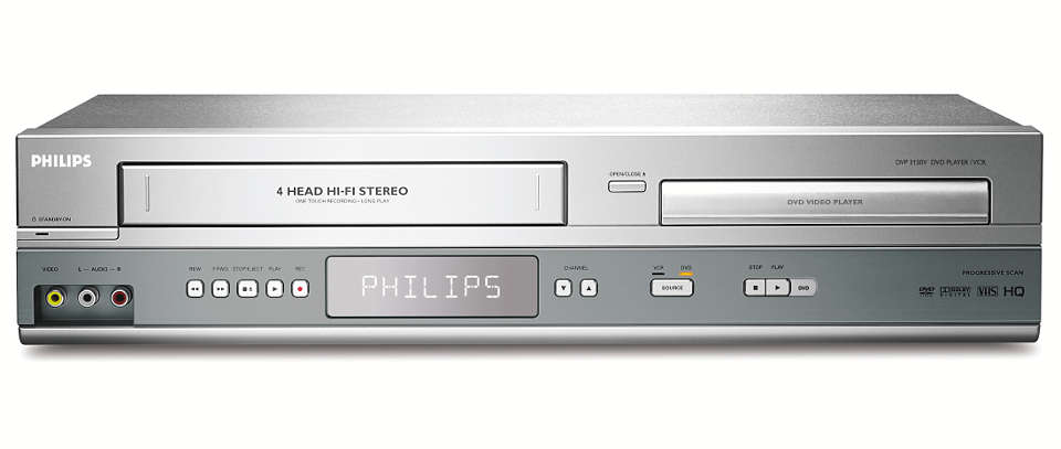 All in one, playback and recording on VHS