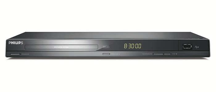 dvd player mit usb dvp3260 12 philips. Black Bedroom Furniture Sets. Home Design Ideas