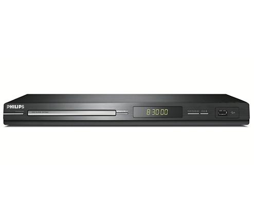 dvd player mit usb dvp3264 12 philips. Black Bedroom Furniture Sets. Home Design Ideas