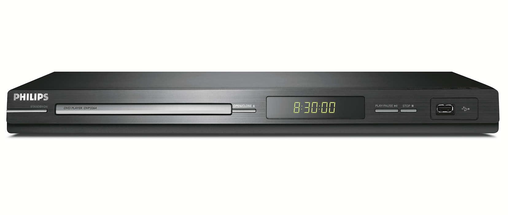 Suora USB-liitäntä televisioon