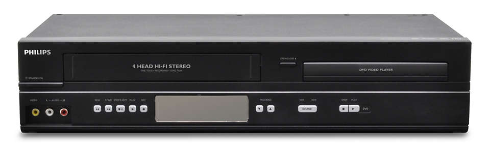 DVD and VHS Combo