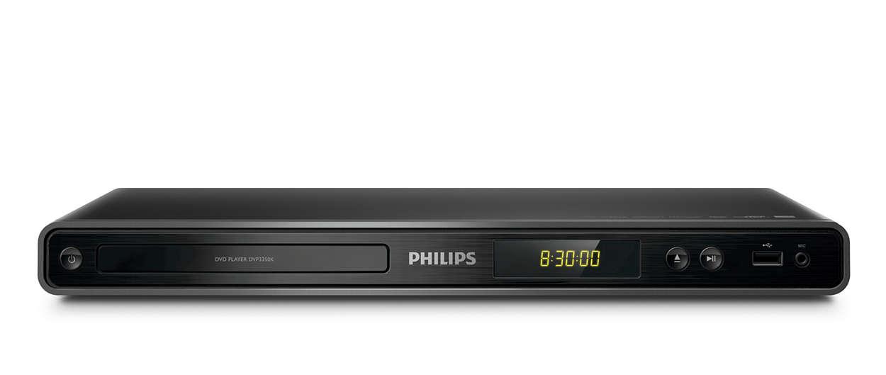 Disfruta sin límites tus DVD o USB