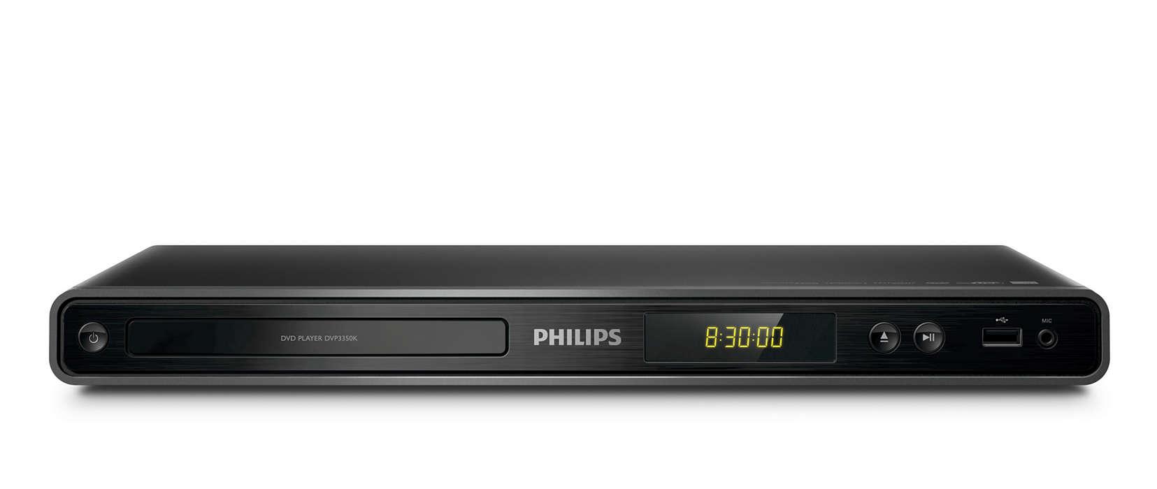 DVD 또는 USB로 제대로 즐기기
