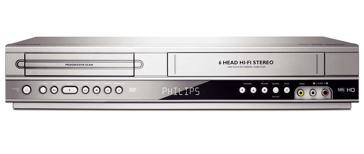 dvd player videorecorder dvp3350v 02 philips. Black Bedroom Furniture Sets. Home Design Ideas