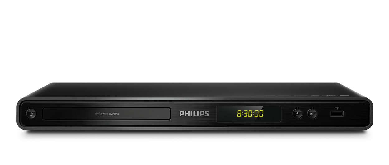 Απολαύστε τα πάντα - από DVD ή USB