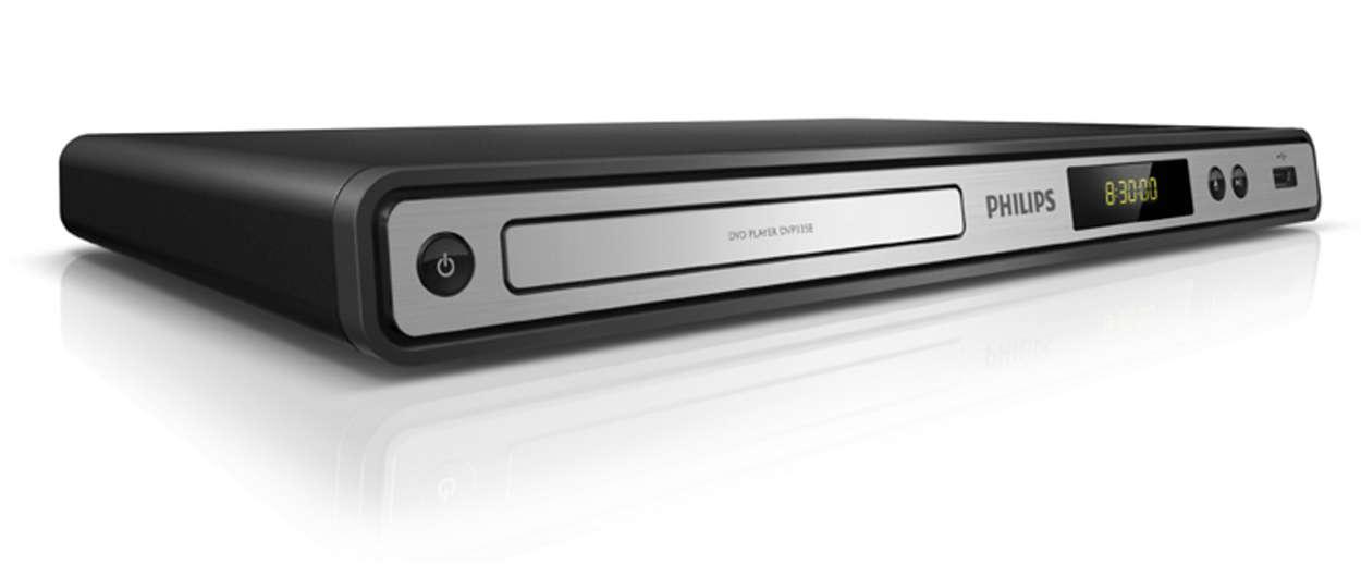 DVD veya USB, hepsinin keyfini çıkarın