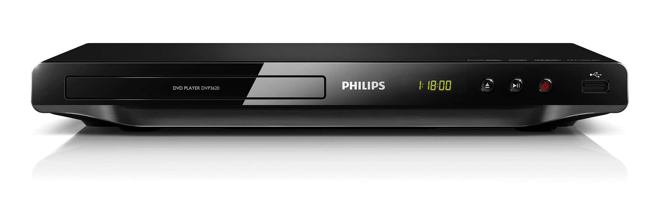 Profitez de tous vos contenus sur DVD ou USB