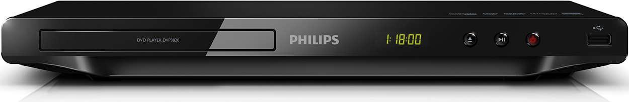 DVD 與 USB 播放一網打盡