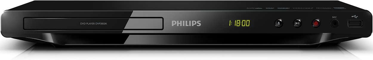 Thưởng thức tất cả - từ DVD hay USB