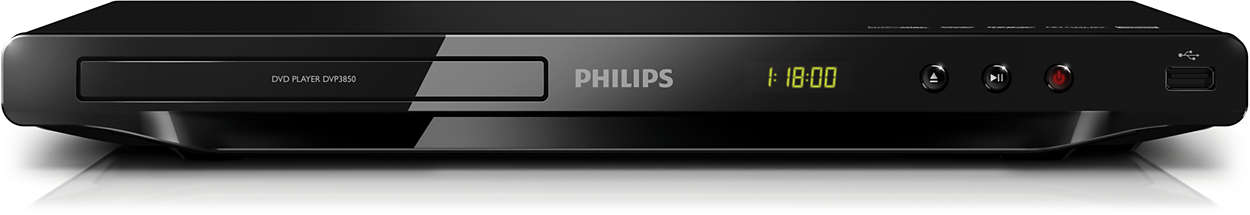 Njut av allt – från DVD eller USB
