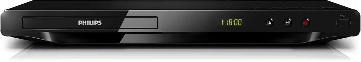 Наслаждавайте се на всичко - от DVD или USB