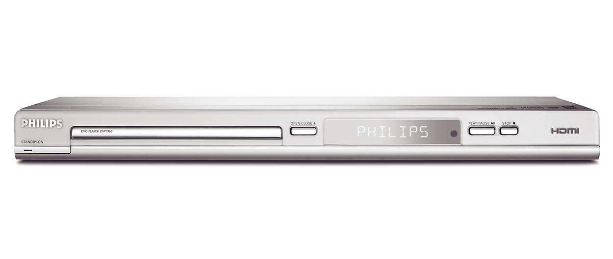 DVD player DVP3960/93 | Philips