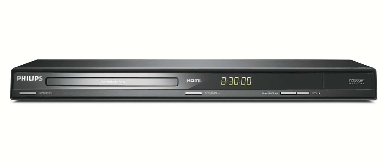 Lecteur DVD avec conversion à la résolution supérieure HDMI1080i