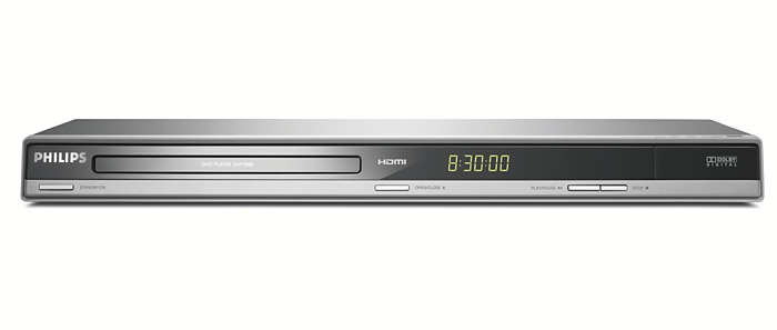 DVD playback with 1080p HDMI upconversion