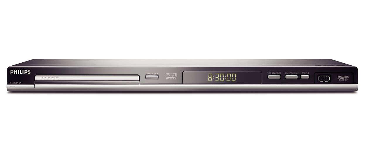 Direct van USB naar TV