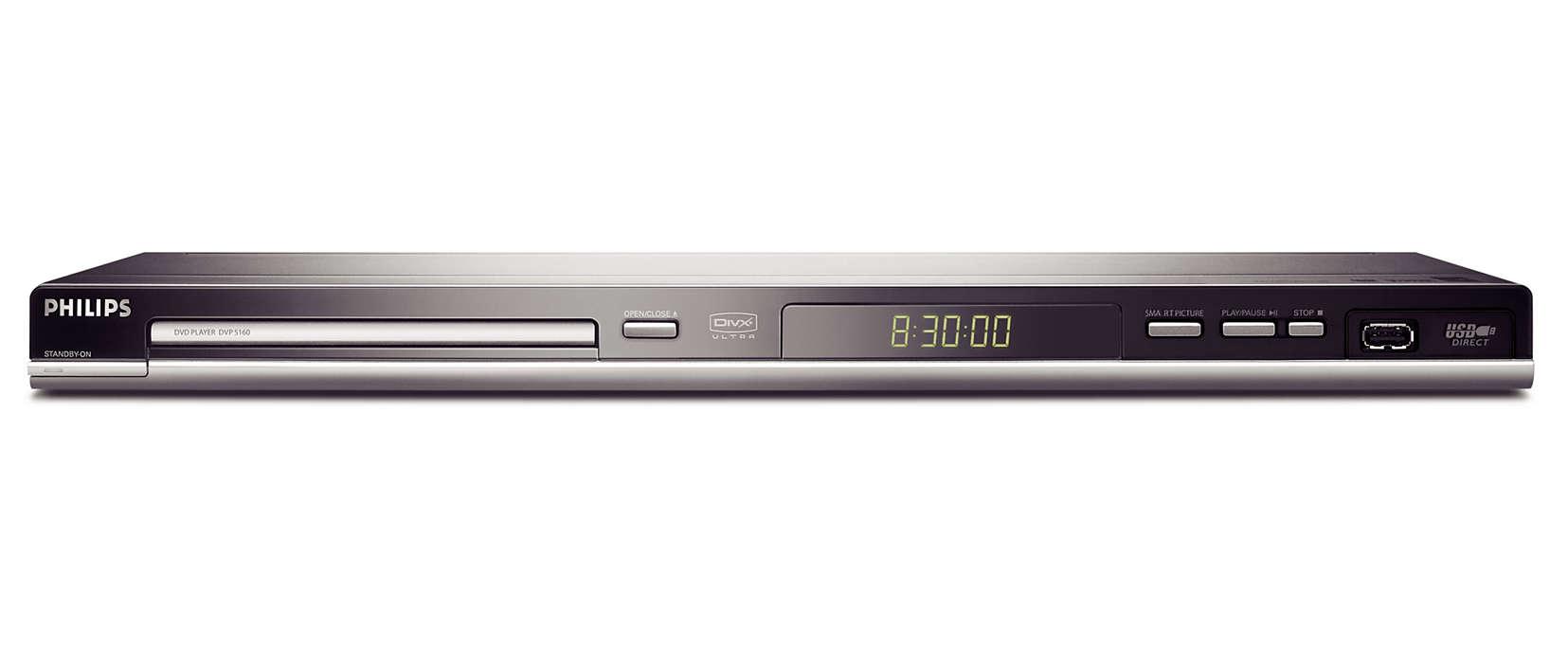 Direct de pe USB pe TV